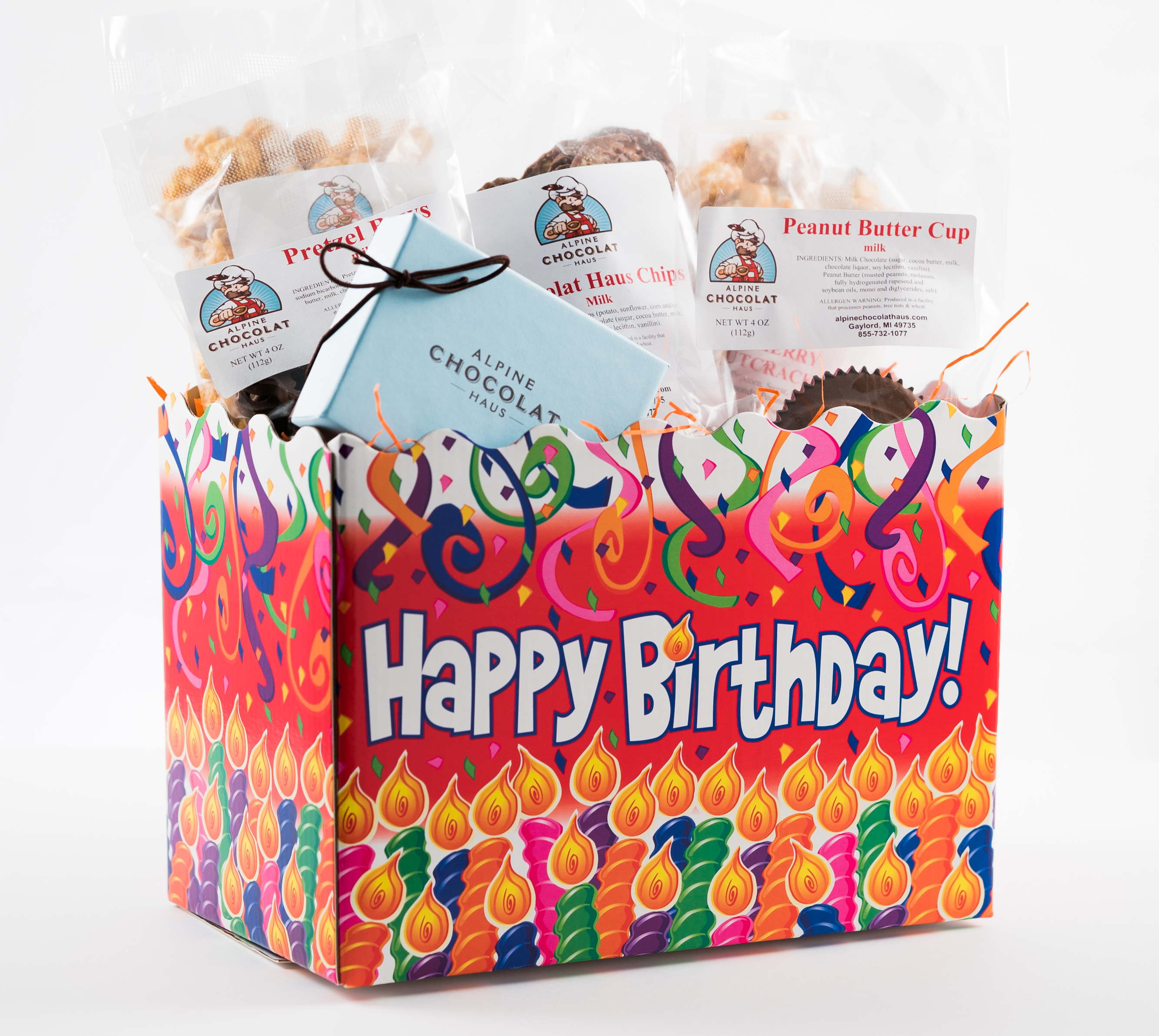 Happy Birthday Gift Box